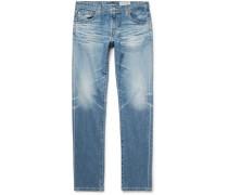 Tellis Slim-fit Distressed Stretch-denim Jeans