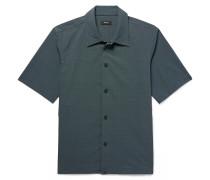 Gavin Slim-fit Printed Stretch-shell Shirt