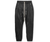Tapered Shell Drawstring Trousers