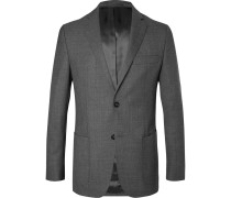 Grey 375 Slim-fit Unstructured Wool Suit Jacket