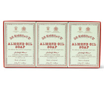 Three-pack Almond Oil Soaps, 3 X 150g - Green