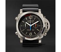 Luminor 1950 Regatta 3 Days Chrono Flyback Automatic Titanio 47mm Titanium And Rubber Watch
