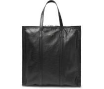Bazaar Arena Creased-leather Tote Bag