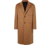 Oversized Double-faced Cashmere Coat - Camel