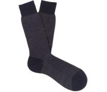 Blenheim Merino Wool-Blend Socks