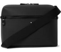 Extreme 2.0 Textured-leather Messenger Bag - Black