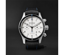 Boeing Model 247 Automatic Chronometer 43mm Stainless Steel Watch - White