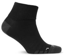 Three-pack Everyday Max Lightweight Dri-fit Socks - Black
