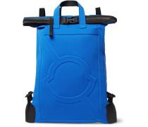 5 Moncler Craig Green Canvas Backpack - Blue