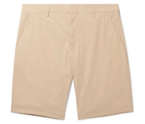 Slim-fit Cotton Shorts