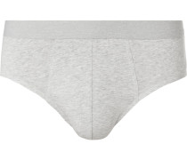 Harald Mélange Stretch-cotton Briefs