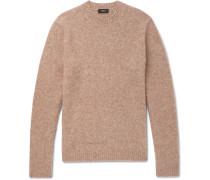 Highland Gaston Slim-fit Mélange Alpaca-blend Sweater