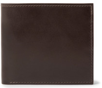 Horween Shell Cordovan Leather Billfold Wallet