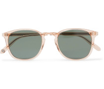 Kinney 49 Square-frame Acetate Sunglasses - Pink