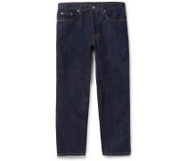 Tapered Selvedge Denim Jeans - Indigo