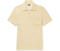 Cotton-terry Polo Shirt - Yellow