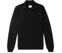 Fjord Slim-Fit Merino Wool Half-Zip Sweater