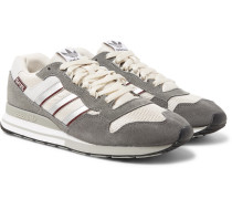 Spezial Zx530 Suede, Leather And Mesh Sneakers - Gray