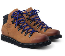 Madson Hiker Waterproof Leather And Rubber-trimmed Nubuck Boots - Tan