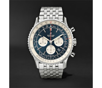 Navitimer 1 Chronograph 46mm Steel Watch, Ref. No. AB0127211C1A1