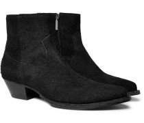 Lucas Brushed-suede Boots