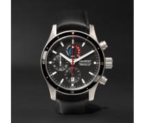 Oracle Team USA Regatta Chronograph 43mm Titanium and Rubber Watch, Ref. No. OTUSA-R/BK