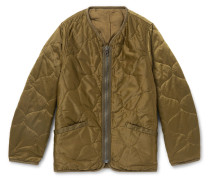 Iris Quilted Nylon-Shell Jacket