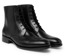Stan Leather Boots - Black