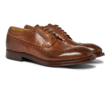 Williams Burnished-leather Brogues