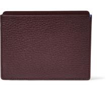 Burlington Full-grain Leather Cardholder - Merlot
