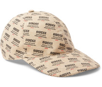 Logo-print Linen And Cotton-blend Canvas Baseball Cap
