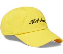 + Chet Baker Embroidered Cotton-twill Baseball Cap