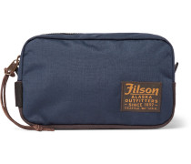 Nylon And Canvas Wash Bag