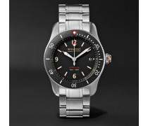 Supermarine Type 300 40mm Stainless Steel Watch - Black