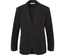 Black Manager Unstructured Cotton Blazer