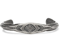 Thunderbird Engraved Sterling Silver Cuff