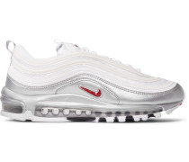 Air Max 97 Qs Faux Leather And Mesh Sneakers - White