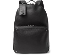Valentino Garavani Rockstud Full-grain Leather Backpack