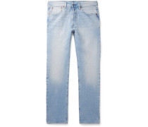 501 Slim-fit Stretch-denim Jeans - Light denim