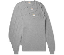 Three-Pack Cotton-Jersey Thermal T-Shirts