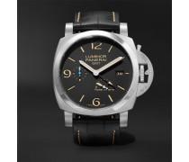 Luminor 1950 3 Days Acciaio 44mm Stainless Steel And Alligator Watch