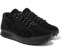 Jump Brushed-suede Sneakers