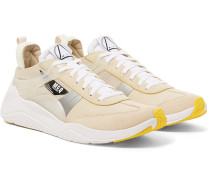 Gishiki Pro Rubber-Trimmed Suede, Mesh and Ripstop Sneakers
