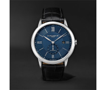 Classima Automatic 42mm Stainless Steel and Alligator Watch