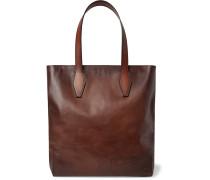 Scritto Leather Tote Bag