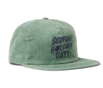 Logo-Embroidered Hemp and Organic Cotton-Blend Corduroy Baseball Cap