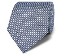 8.5cm Silk-Jacquard Tie