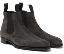 + George Cleverley James Suede Chelsea Boots