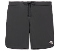 Logo-Appliquéd Shell Swim Shorts