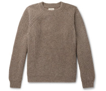 Austin Ribbed Mélange Wool Sweater
